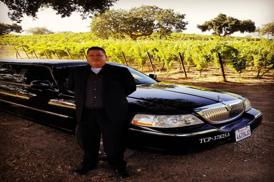 Limo tours through sb wine country